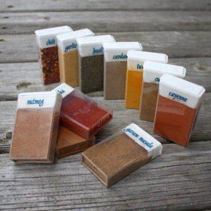 Mini Sugar And Spice Containers!