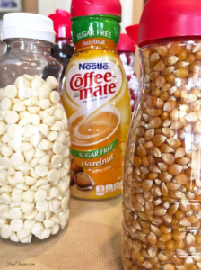 Coffee Creamers turned Into Containers!